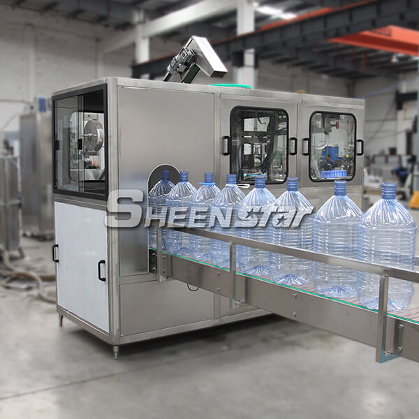 13L Big Bottle Pure Water Filling Labeling Packing Line