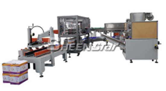Plastic Bottled Beverage Carton Packaging System
