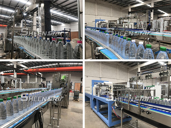 On-site Debugging Bottle Water Production Line