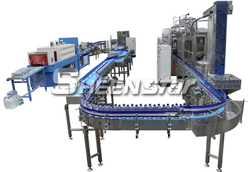 Two 10000 bph Bottle Water Production Lines Were Completed